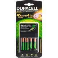 Зарядное устройство + аккумуляторы Duracell CEF14 45-min ExpressCh.+2хAA 2500mAh+2хAAA 850mAh