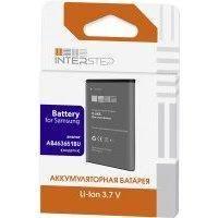 Аккумуляторы для телефонов InterStep для Samsung C3200/S5610/C3322
