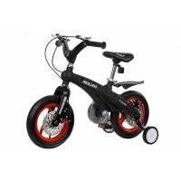 """Велосипед Miqilong GN 12"""", черный с красным (MQL-GN12-BLACK)"""