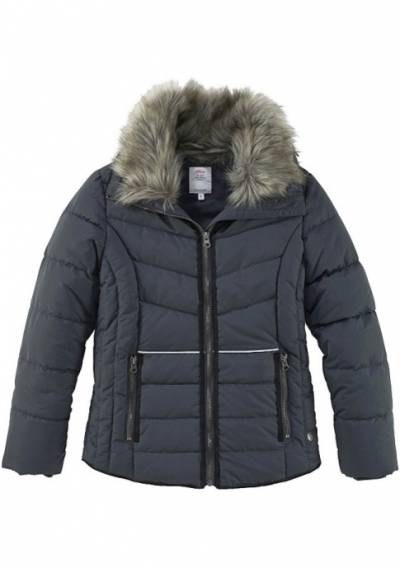 Стеганая куртка s.Oliver (темно-синий) (105747) детям купить за 3999 руб в Перми, видео обзоры и характеристики