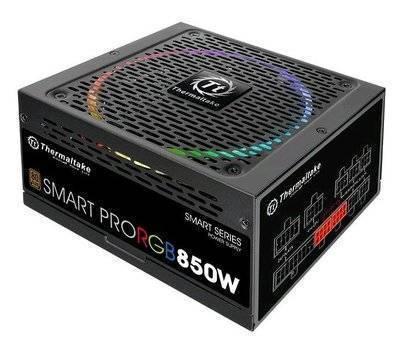 Блок питания THERMALTAKE SMART PRO RGB 850Вт 140мм черный retail PS-SPR-0850FPCBEU-R