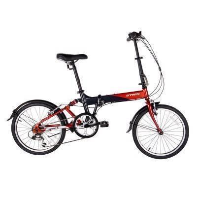 Велосипед Складной Hoptown 3 B'TWIN