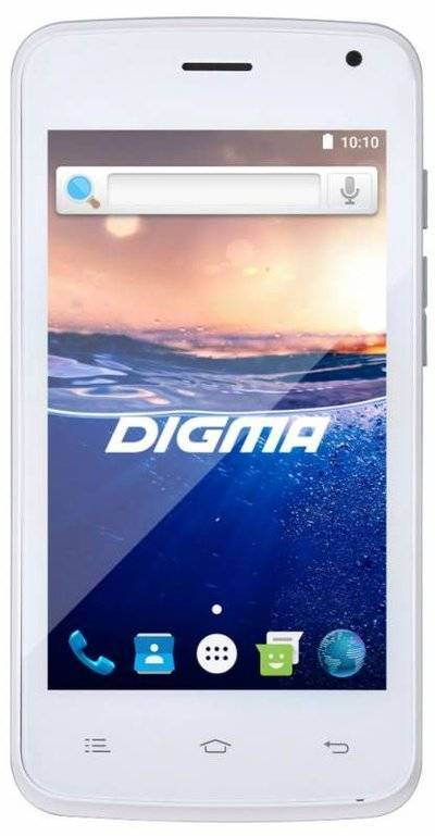 Digma Hit Q400 3G (белый)
