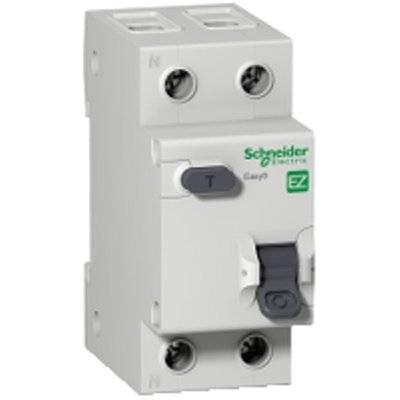 Выключатель автоматический дифференциальный АВДТ 1п+N 10А 30мА С АС EASY 9