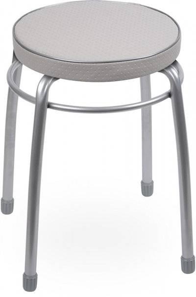 Табурет Nika Элит Тэл1 круглый серый 42920 Ника (1995411) купить за 652 руб в Чебоксарах, видео обзоры и характеристики