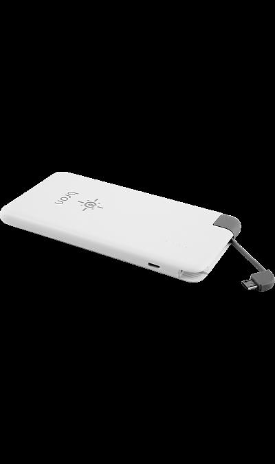 Аккумулятор Bron G400 Li-Ion 4000 мАч белый (портативный) Аккумулятор G400, Li-Ion, 4000 мАч, белый (портативный)