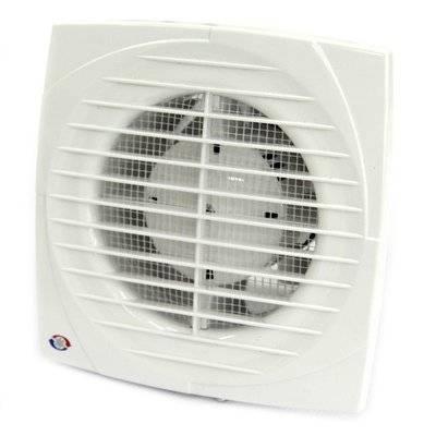 Вентилятор 100 ДВТНК (150*150мм) Вентс (с выкл. реле влажности таймером с клапаном)