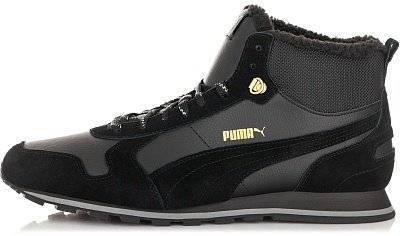 04852012 Кроссовки мужские Puma ST Runner Mid Fur размер 42 (Черный) (3651021 ...