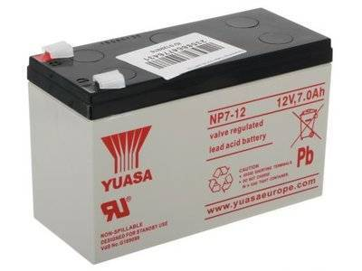 Аккумулятор Yuasa 12V7Ah NP7-12