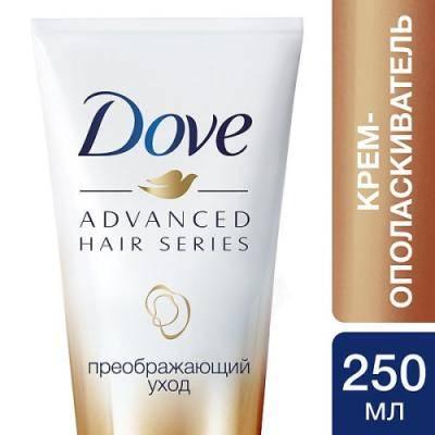 DOVE Крем-ополаскиватель для волос Advanced Hair Series Преображающий уход 250мл 21188405