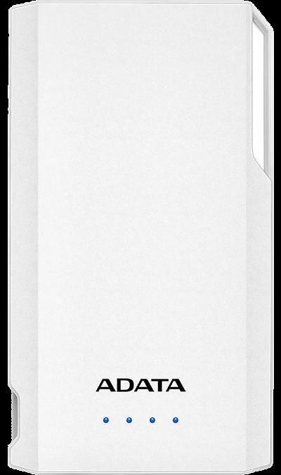 Аккумулятор ADATA S10000 Li-Pol 10000 мАч белый Аккумулятор S10000, Li-Pol, 10000 мАч, белый
