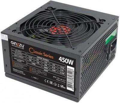 БП ATX 450 Вт GINZZU CA450